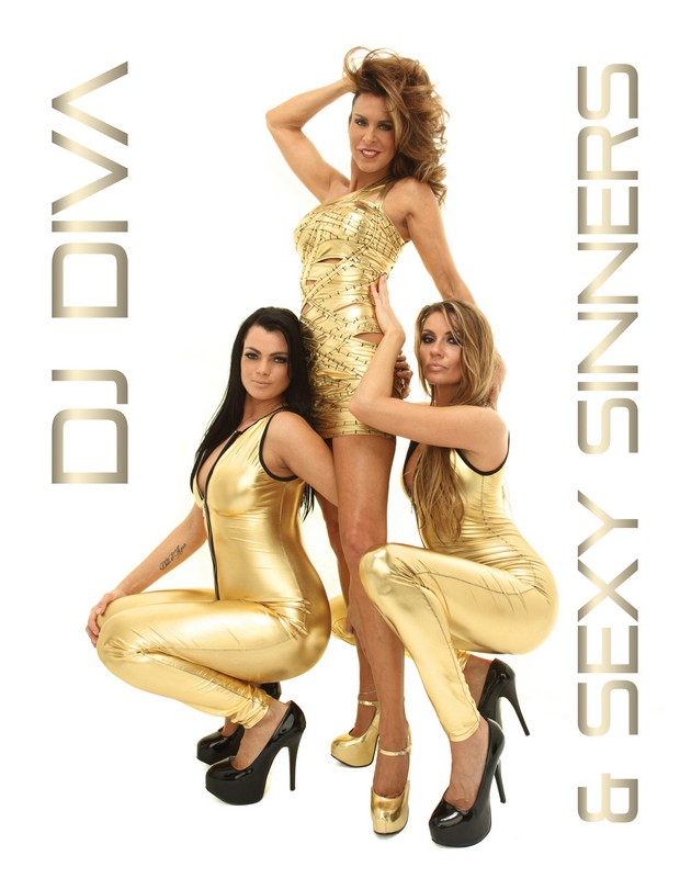 DJ Diva en Sexy Sinners for Webers Holland